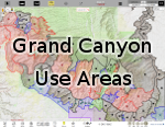 Grand Canyon Use Area Boundaries - Dynamic Map