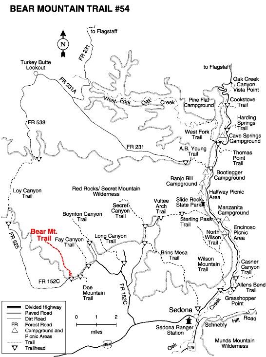 Bear Mountain Trail #54, AZ | HikeArizona on asheville hikes map, ole az bradshaw ranch location map, arches national park hikes map, red rock hikes map, utah hikes map, sedona arizona forest road maps, salt lake city hikes map, phoenix hikes map, portland hikes map, sabino canyon hiking trails map, sun valley hikes map, bellingham hikes map, moab hikes map, coconino national forest map, flagstaff hikes map, sedona red rock canyon, arizona hiking map, grand canyon hikes map, washington hikes map, bradshaw mountain ranch map,