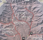 Dry Creek Trail #52 Area Map