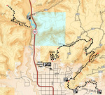 Kanab BLM - Trails Map