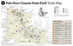 Palo Duro Trails Map 2020