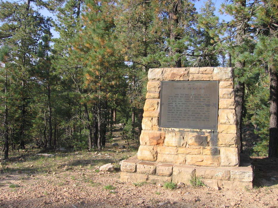 The Apache Battle of Big Dry Wash Monument