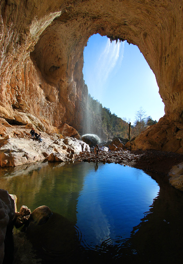tonto natural bridge  az
