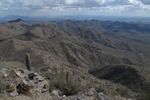 Barry Goldwater Peak via Mesquite Canyon