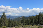 Pacific Crest Trail from Scott Mountain Summit