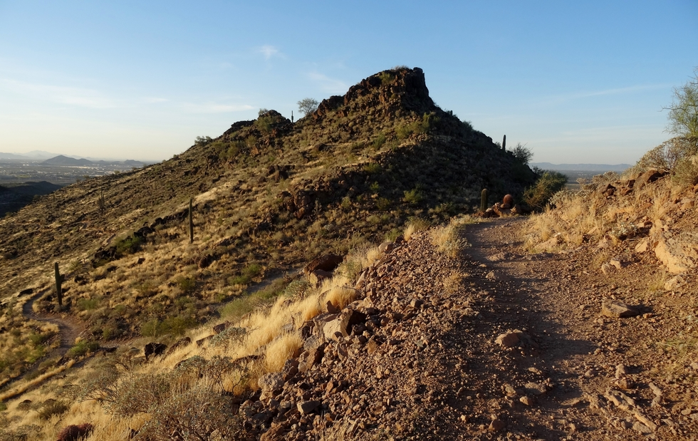 Ridgeline Trail - Deem Hills, Arizona • Hiking on